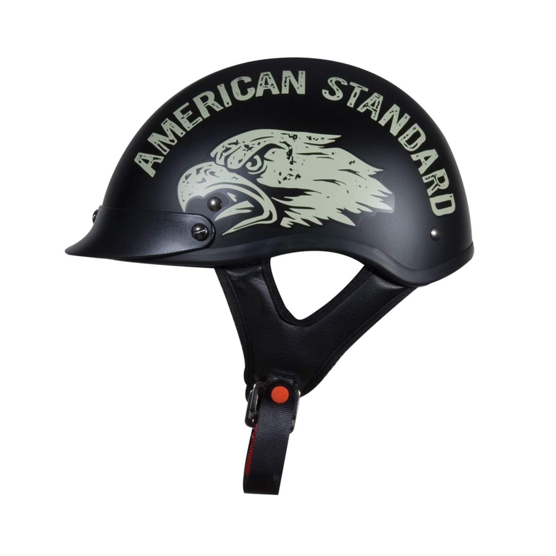 Torc T55 2 Lowdown Half Helmet With  U0026 39 American Standard
