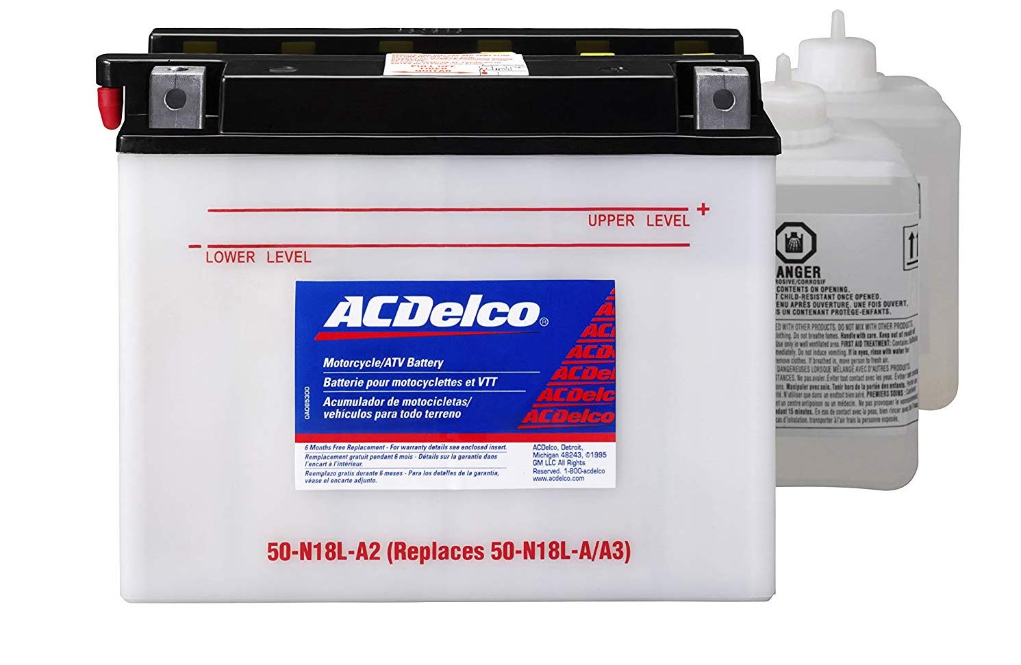 ACDelco conventional lead acid battery