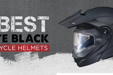 10 Best Matte Black Motorcycle Helmets