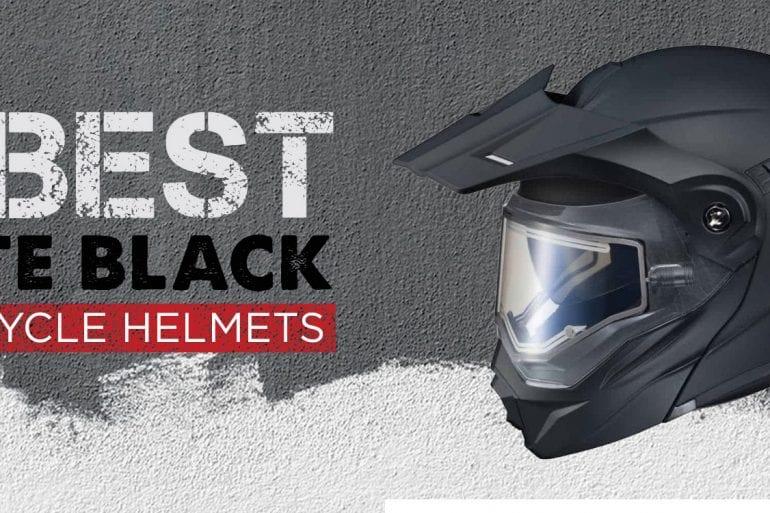 10 Best Matte Black Motorcycle Helmets