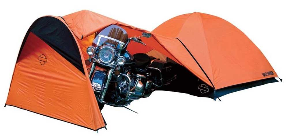 Harley-Davidson Rider's 4-Person Motorcycle Camping Tent