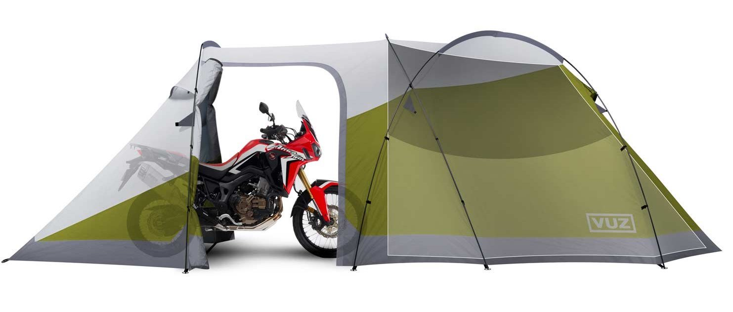Vuz Moto Waterproof 3-Person Motorcycle Tent