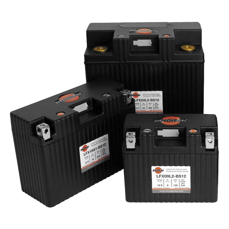 Shorai lithum battery