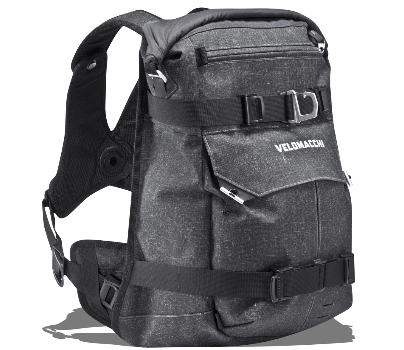 backpack backpacks motorcycle roll velomacchi 40l travel