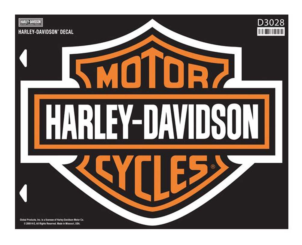 Harley-Davidson Bar & Shield X-Large Decal