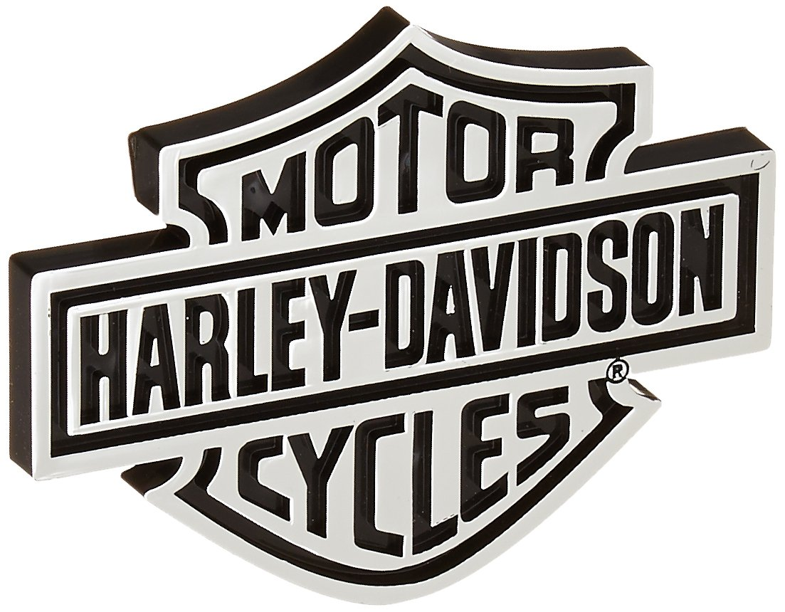 Harley-Davidson Injection Molded Emblem Decal