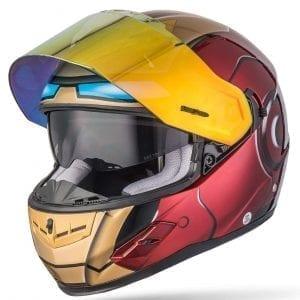 NENKI NK-856 Full Face Iron Man Motorcycle Helmet 2