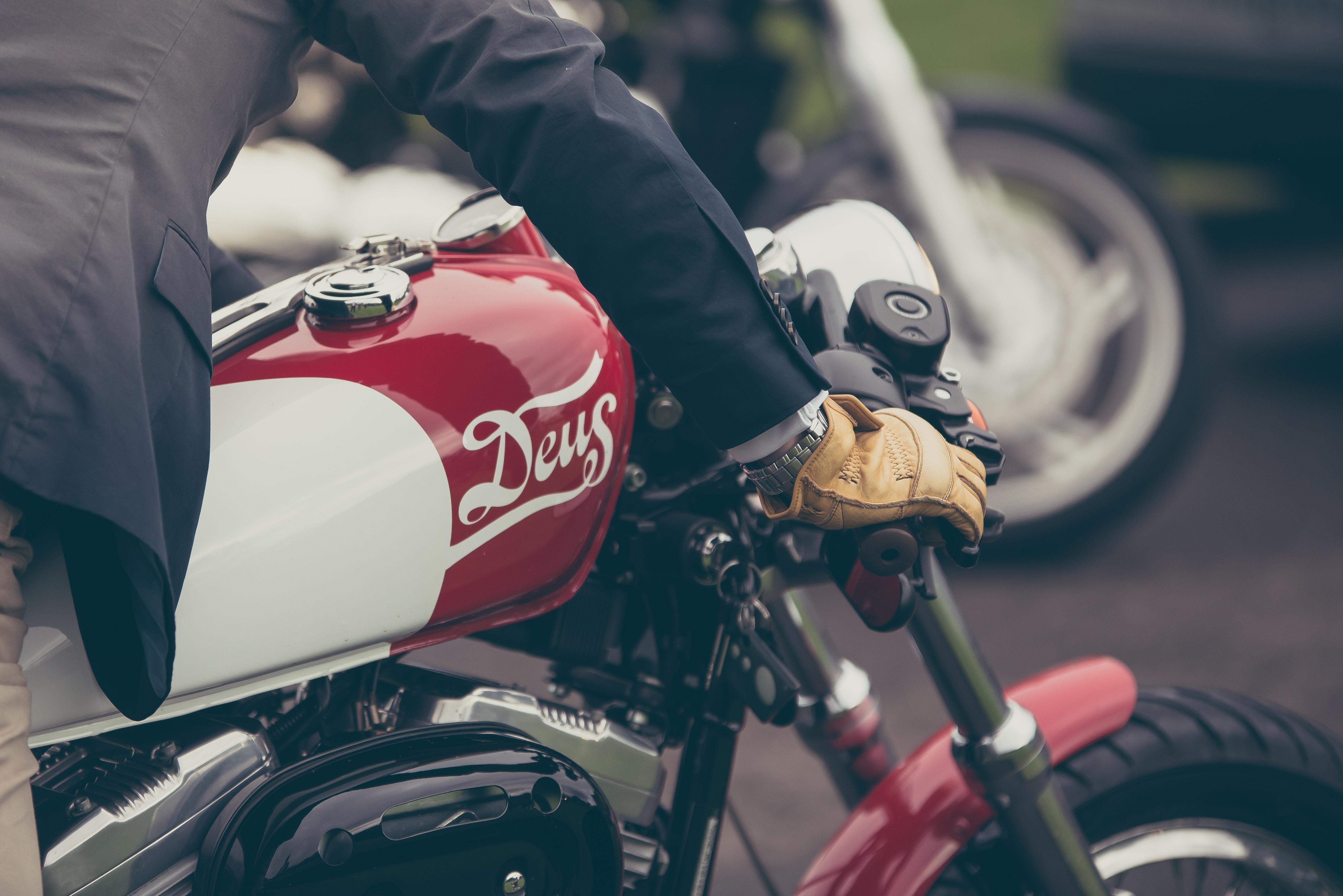 Harley-Davidson Mens Peshtigo Leather Gloves Brown