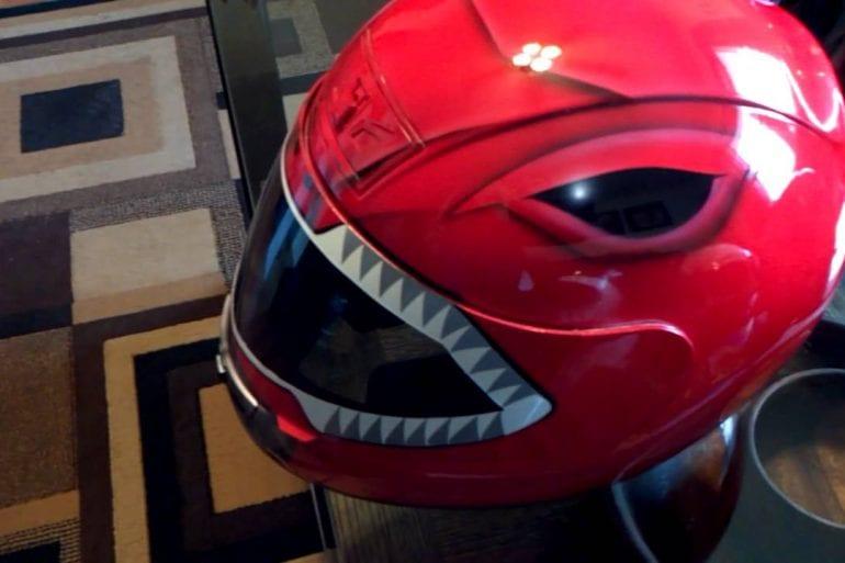 Power Rangers Motorcycle Helmets