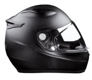 The Klim K1R Raw Karbon Helmet