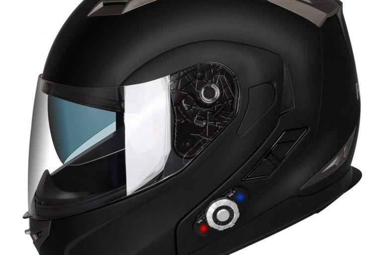 FreedConn BIF01313 Flip up Dual Visor Full Face Helmet