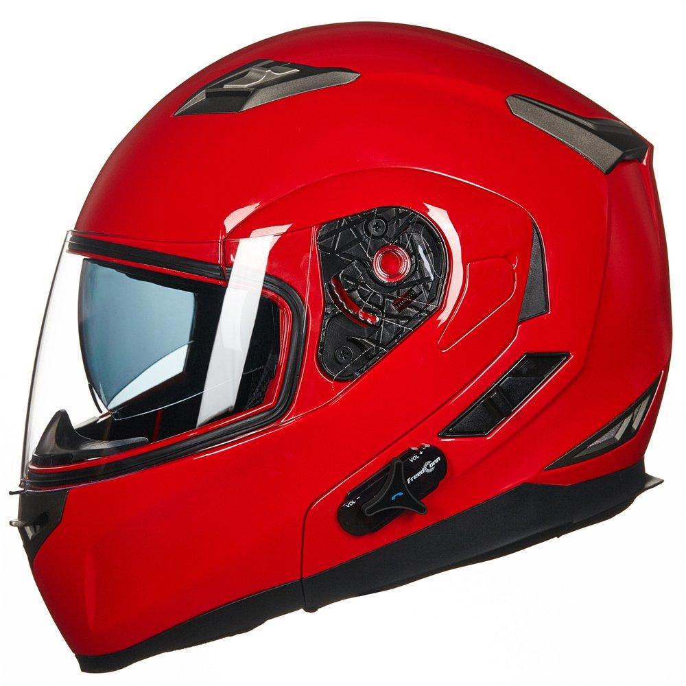 ILM 953 Bluetooth Integrated Modular Flip up Full Face Helmet