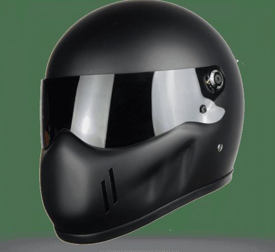 Matrix Alpha Street Fighter Fibreglass Helmet