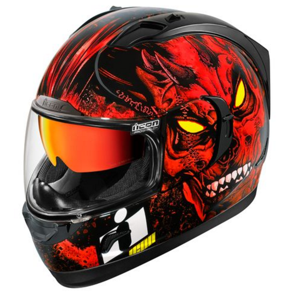 Icon Alliance Gt Horror Helmet Review