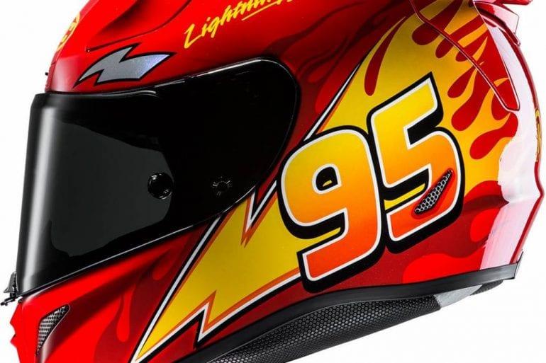 HJC RPHA-11 Pro PIXAR CARS Lightning McQueen Helmet