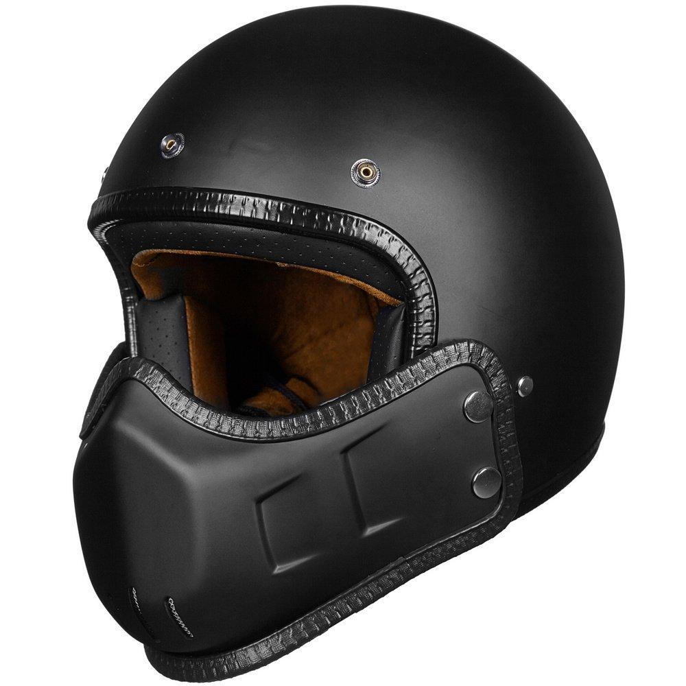 ILM Motorcycle Half Face Helmet DOT Approved Bike Cruiser ATV