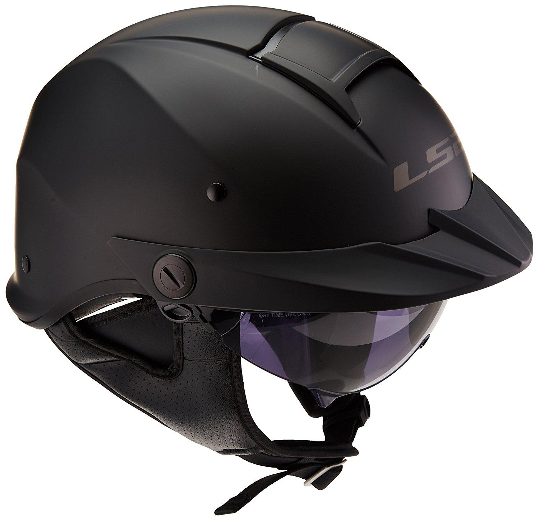 LS2 Helmets Rebellion Unisex-Adult Half Helmet