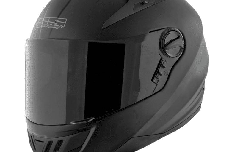 SS1300 Matte Black Helmet