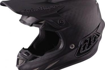 Troy Lee SE4 Midnight Carbon Helmet