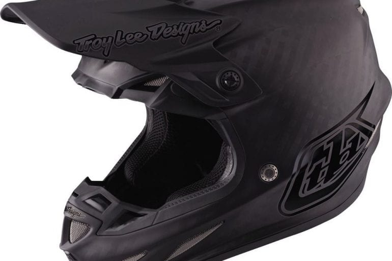 Troy Lee SE4 Midnight Carbon Helmet