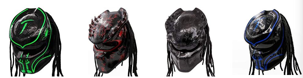 Pro Predator Helmets