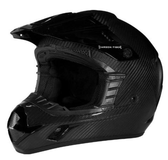 509 Carbon Fiber Helmet Gloss