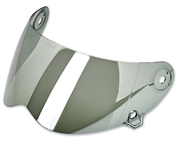 Chrome Mirror Face Shield