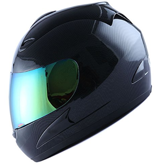 Motorcycle Street Bike Fiber Carbon Helmet