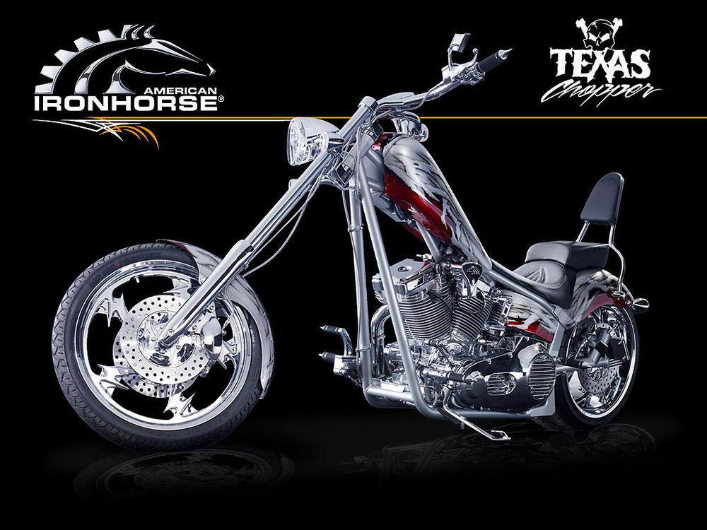 Texas Chopper built by American Ironhorse of U S A