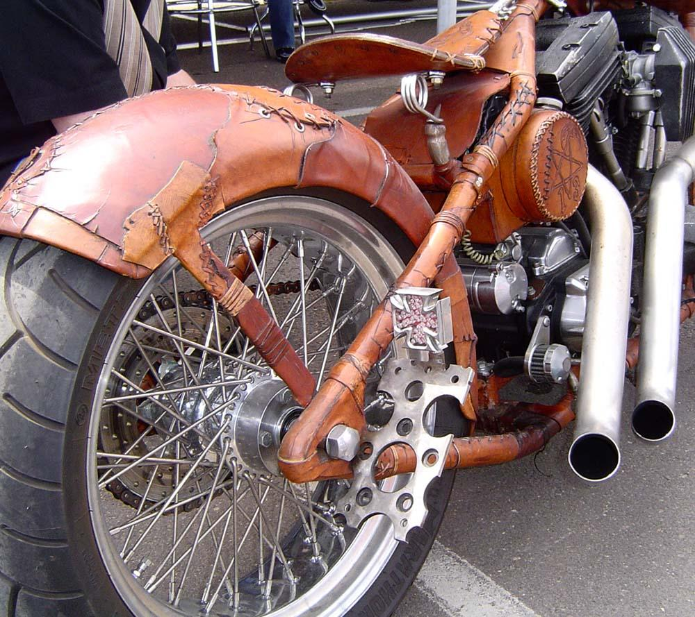 Motley Crue Leather Chopper Bike Specifications Counts Kustoms