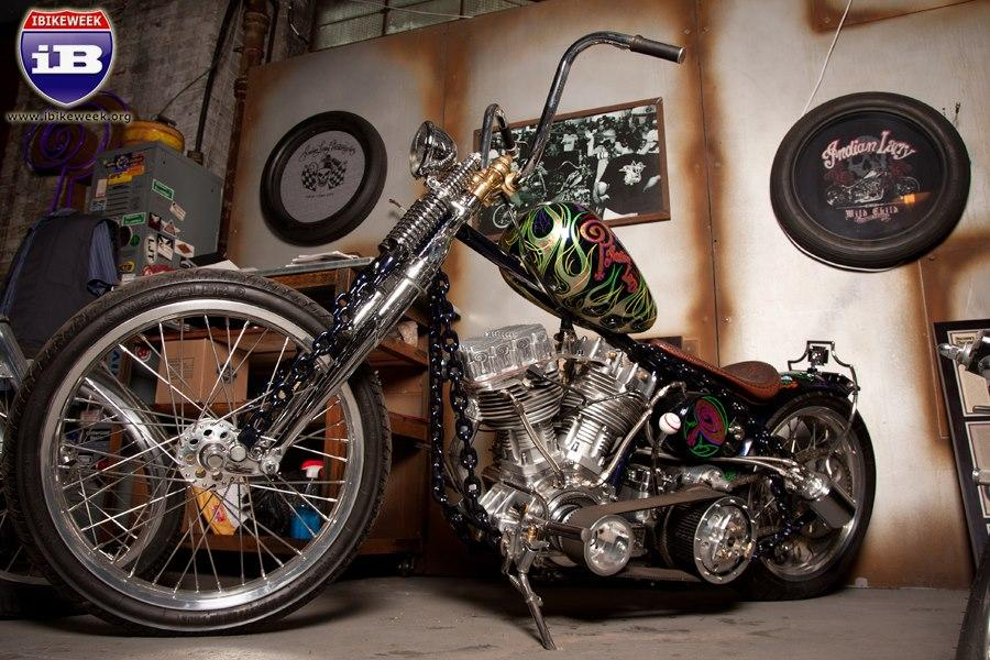 Drive A Tank >> Chain of Mystery built by Indian Larry - Legacy of U.S.A.