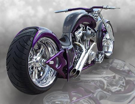 Purple Gangsta Built By Martin Brothers Bikes Of U S A