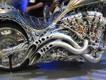 Ghost Rider built by Movie Bikes of U S A