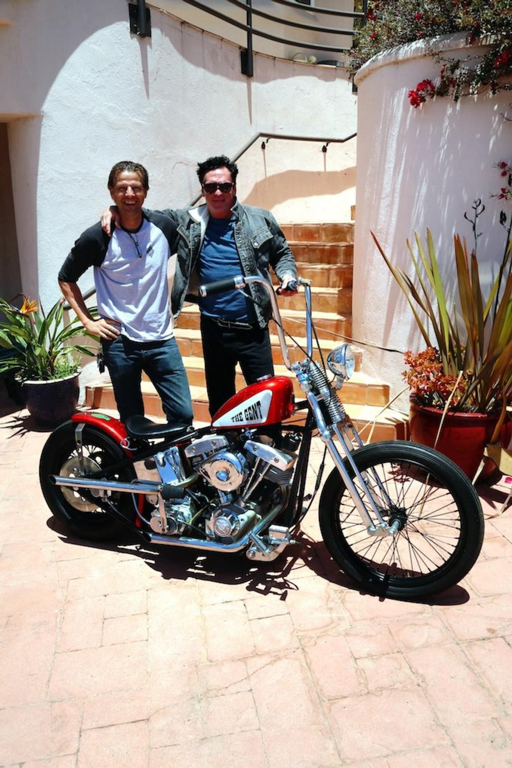 The Gent Built By Movie Bikes Of U S A