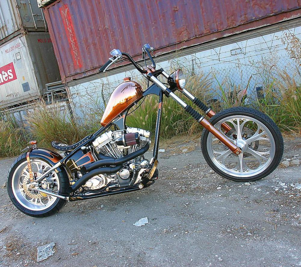 Carl Black Chevy >> 50's Copper Hardtail built by West Coast Choppers - WCC of ...
