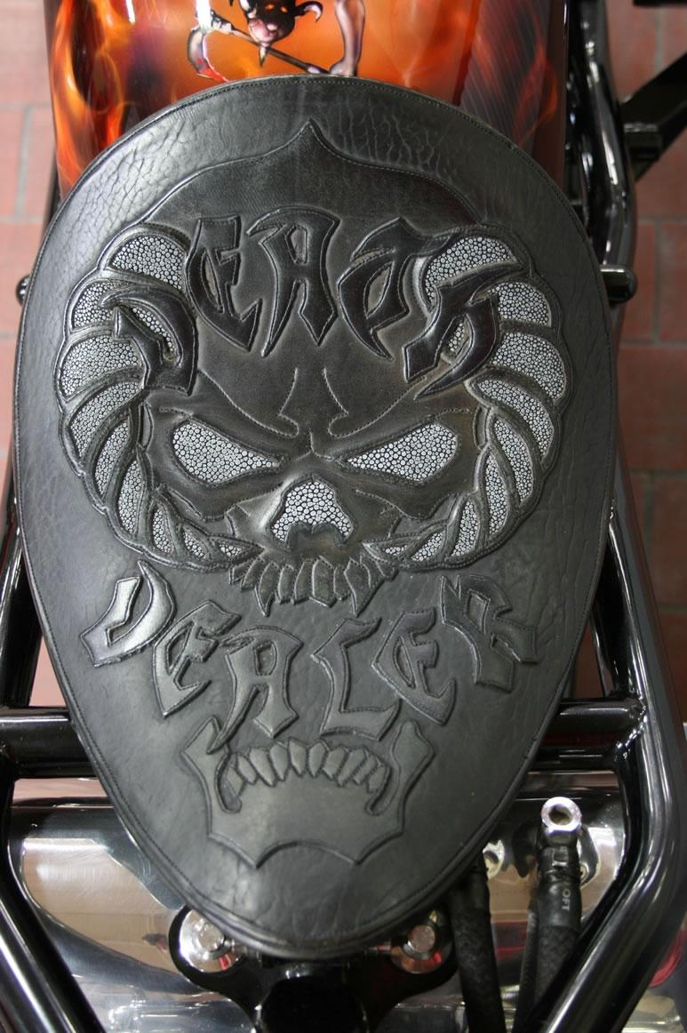 Death Dealer CFL built by West Coast Choppers WCC of USA