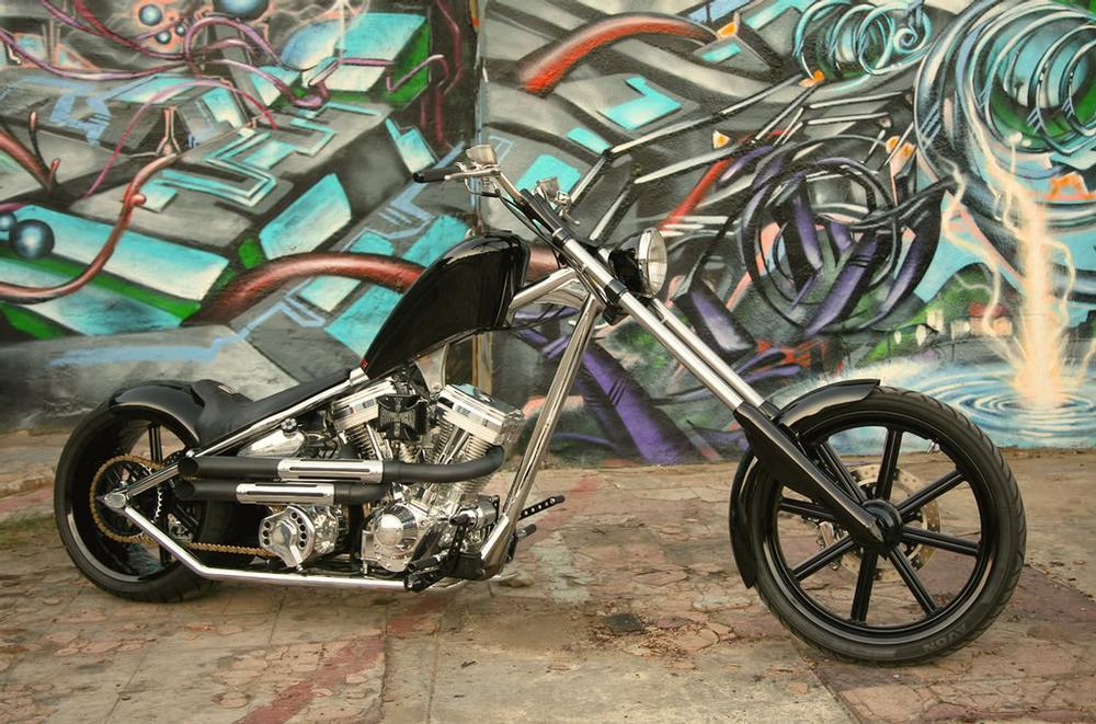 4cdc93dd57 El Diablo Black Chrome Bike Specifications – West Coast Choppers – WCC
