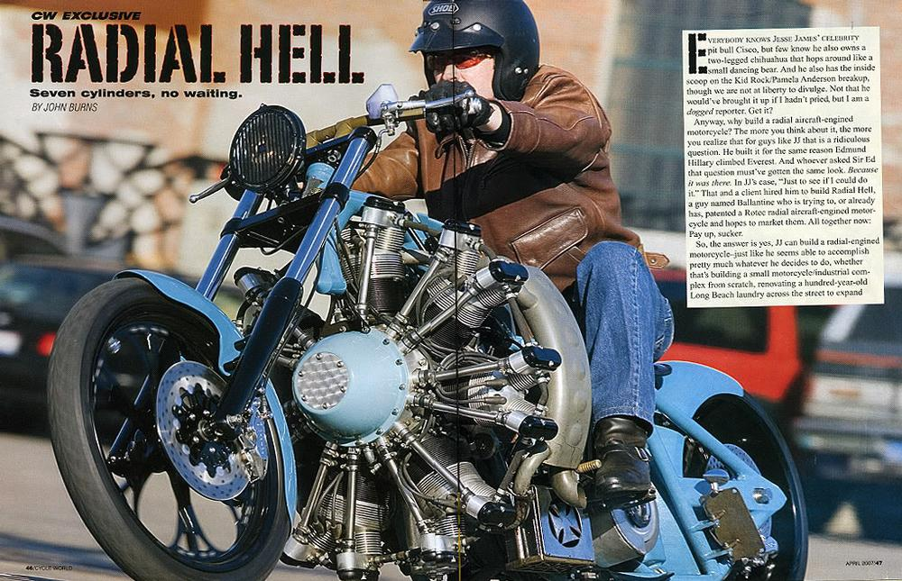 Radial Hell Built By West Coast Choppers Wcc Of U S A