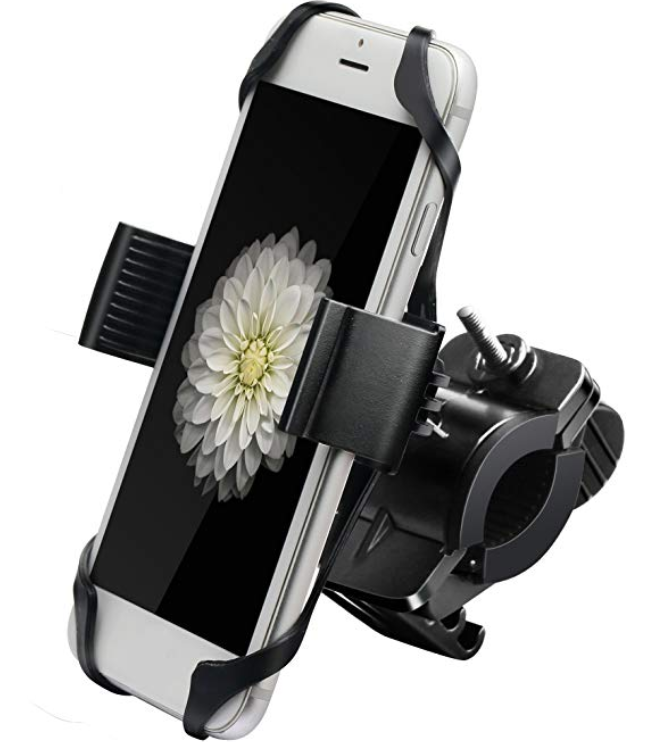 Ipow Metal Bike & Motorcycle Cell Phone Mount