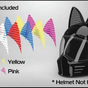 Color Decals for Cat Ear Helmet Upgrade