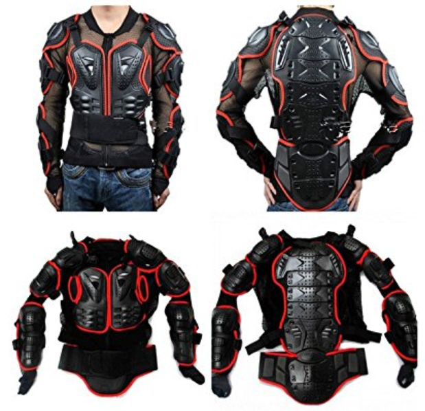 Motorcycle Full Body Armor Protector Pro Street