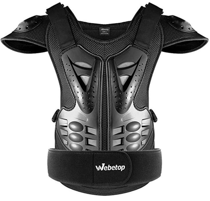 Webetop Adults Dirt Bike Body Armor Vest