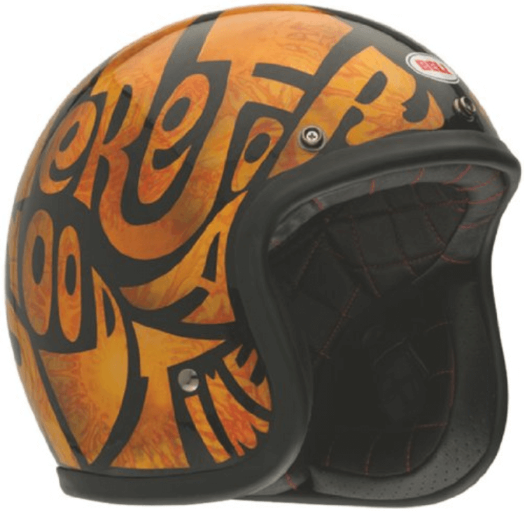 Bell Custom 500 Open Face Motorcycle Helmet