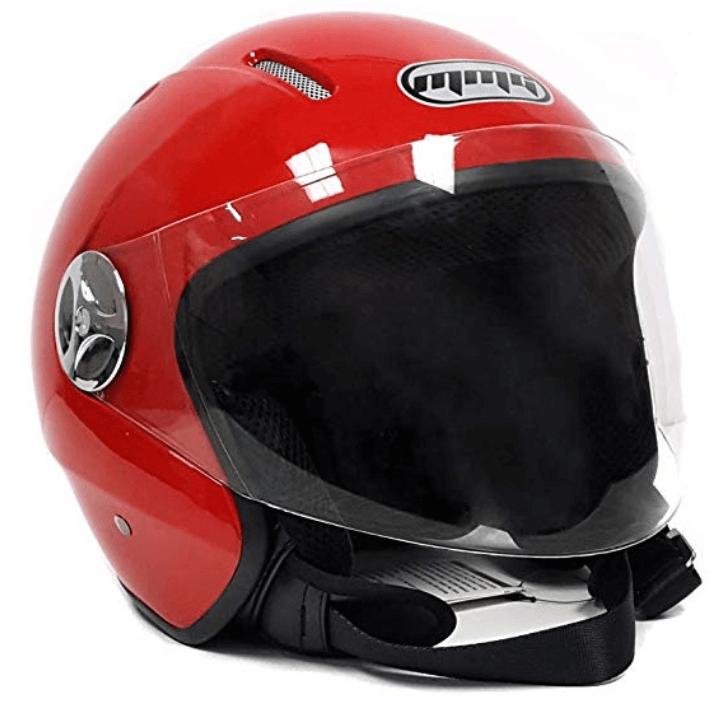 Motorcycle Scooter Open Face Helmet