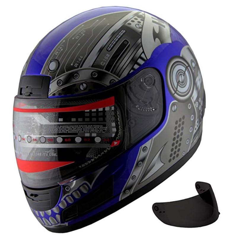 Motorcycle Street Sport Bike Helmet