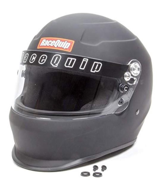 RaceQuip 273995 Flat Black Large PRO15 Full Face Helmet