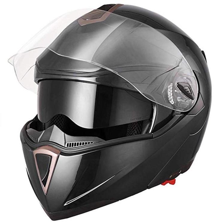 Yescom Full Face Flip up Motorcycle Helmet