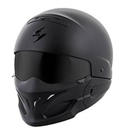 Scorpion Exo Covert Unisex Matte Black Helmet