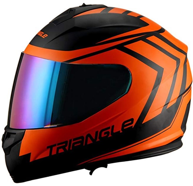 Triangle motorcycle full face dual Visor helmets