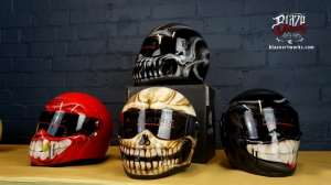 Blaze ArtWorks custom helmets